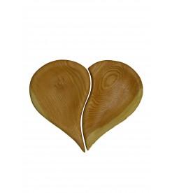 Менажница Сердце из двух половинок